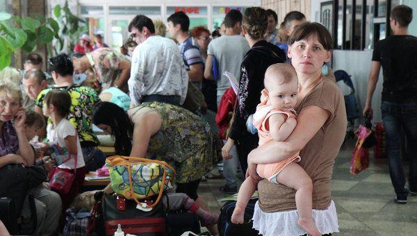 One million people fled eastern Ukraine
