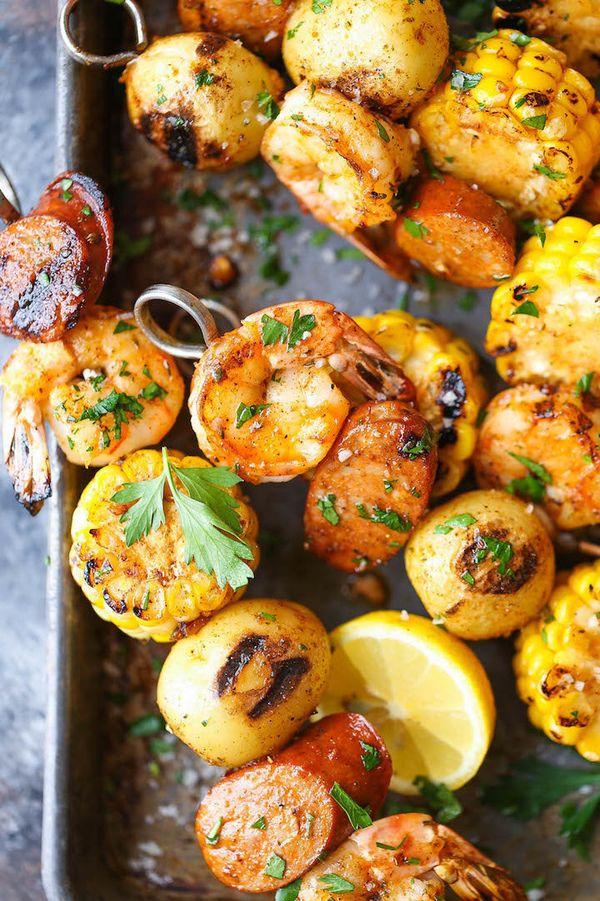 "<strong>Get the <a href=""http://damndelicious.net/2016/06/20/shrimp-boil-kabobs/"" target=""_blank"">Shrimp Boil Kebabs recipe</"