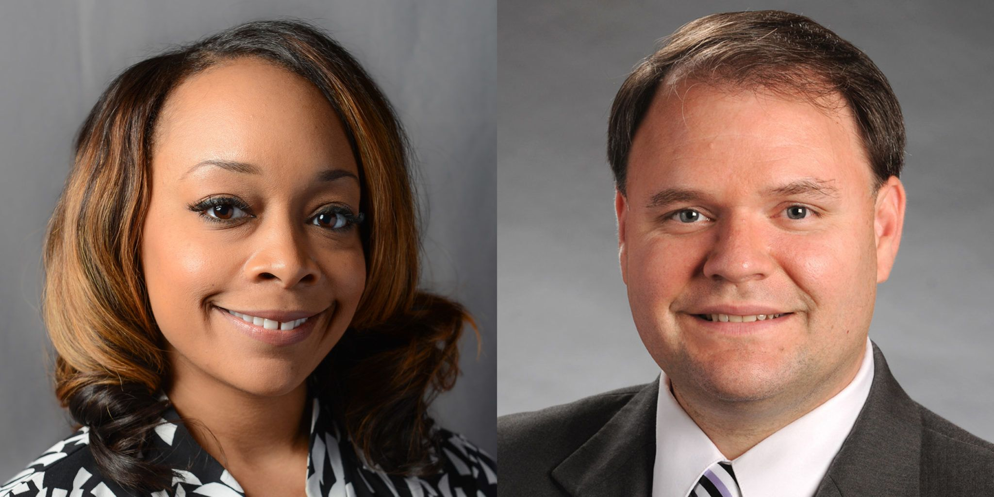 Images of former Georgia state Rep. LaDawn Jones and state Rep. Jason Spencer.