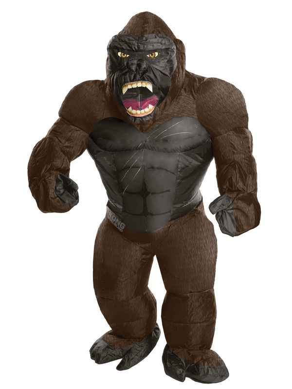 "Sure, everyone loves a gorilla costume, but they can get so hot. This <a href=""https://www.costumesupercenter.com/products/ki"