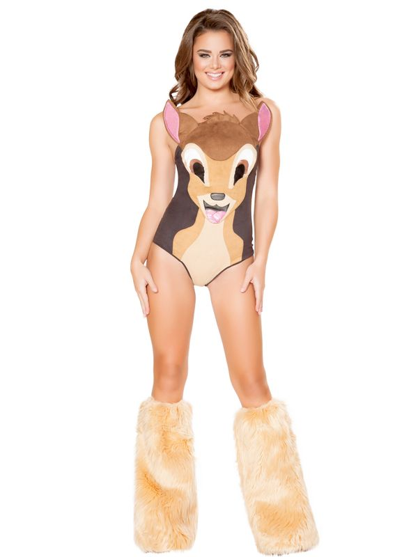 "Oh deer. Yet another <a href=""https://www.costumesupercenter.com/products/sexy-sweet-deer-costume"" target=""_blank"">childhood-"