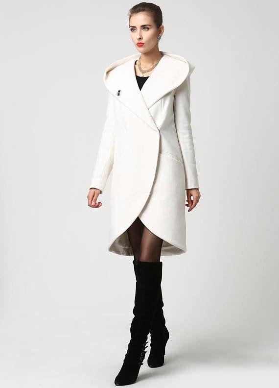"<a href=""https://www.etsy.com/listing/203008648/white-coat-wrap-coat-hooded-coat-winter?gpla=1&gao=1&utm_campaign=sho"