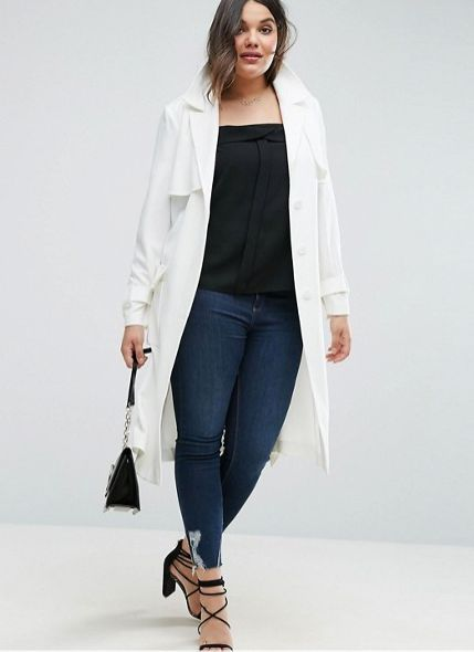 """<a href=""""http://us.asos.com/asos-curve/asos-curve-trench-in-structured-crepe-with-oversized-pockets/prd/7669319?clr=white&amp"""
