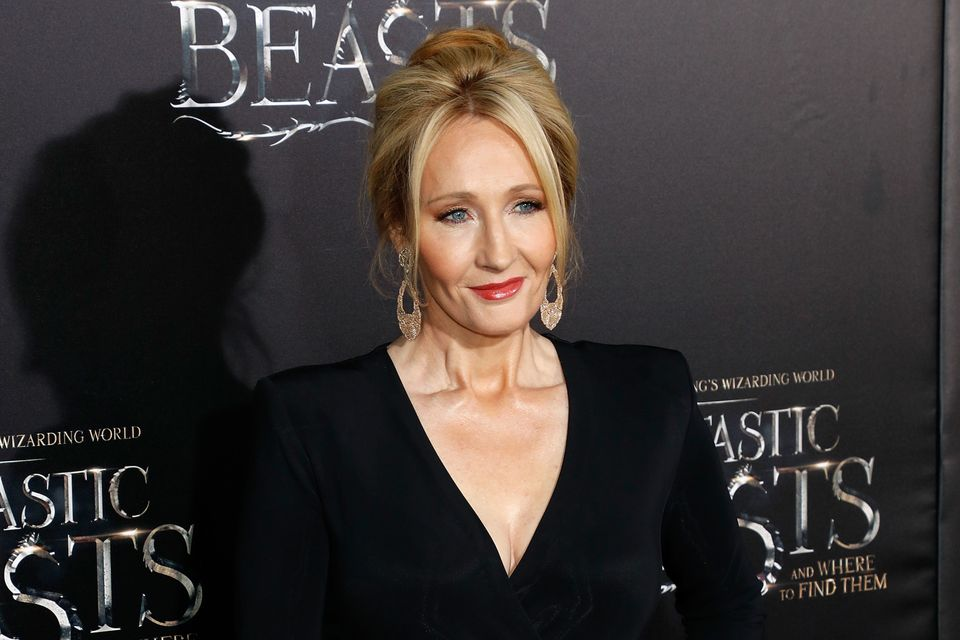 "Ten points to Gryffindor! After giving the world ""Harry Potter,"" <a href=""https://www.huffpost.com/topic/jk-rowling"" tar"