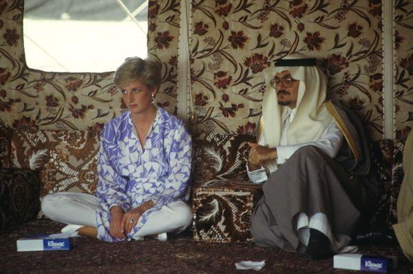 In Saudi Arabia.