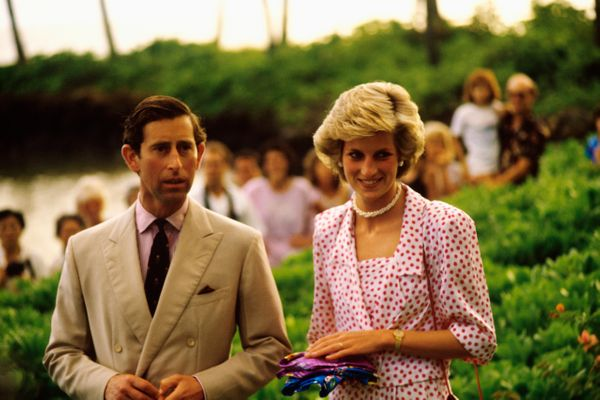 With Prince Charles in Hawaii.