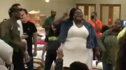 Watch This Spontaneous Gospel Performance Lift Spirits At A Texas