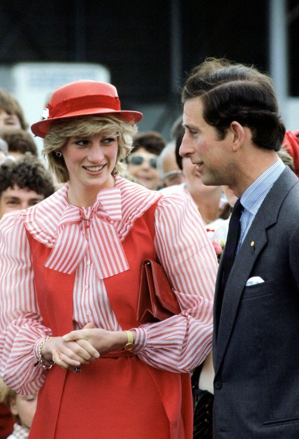 With Prince Charles in Australia.