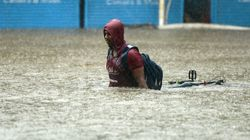 As The U.S. Reels From Harvey, Deadly Floods Ravage Other Parts Of The