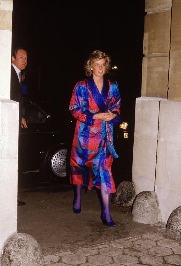 During British Fashion Week inLondon.