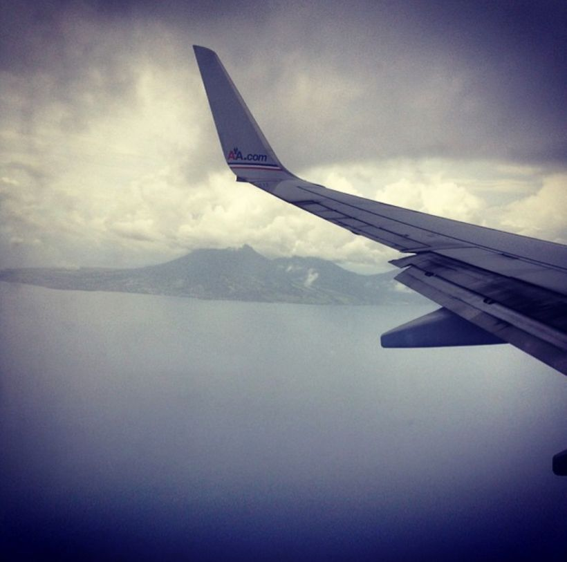 AA flight to St. Kitts