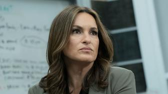 LAW & ORDER: SPECIAL VICTIMS UNIT -- 'American Dream' Episode 1821 -- Pictured: Mariska Hargitay as Lieutenant as Olivia Benson -- (Photo by: Virginia Sherwood/NBC/NBCU Photo Bank via Getty Images)
