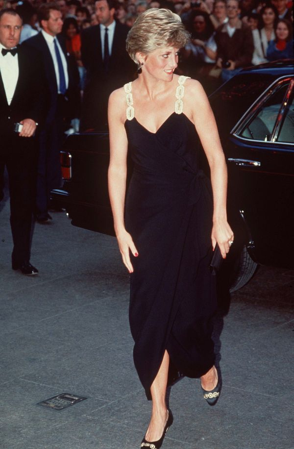 """At the London premiere of the film """"Backdraft."""""""