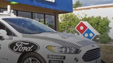 Domino's Tests Driverless Delivery