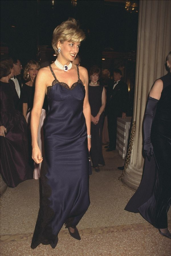 At a benefit ball in New York, New York.