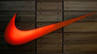 The logo of Nike sportswear maker is seen at a company's store at Tbilisi Mall in Tbilisi, Georgia, April 22, 2016. REUTERS/David Mdzinarishvili