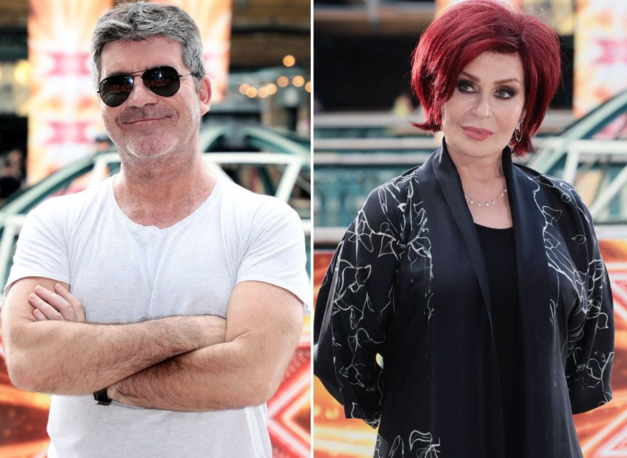 Simon Cowell Spills The Beans On Sharon Osbourne's 'Ridiculous' 'X Factor' Rider