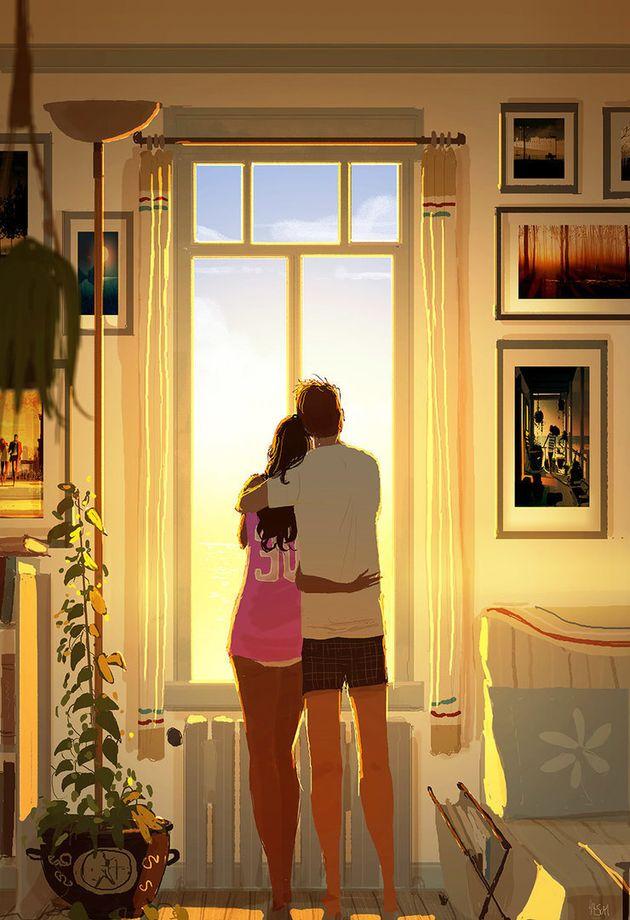 Pascal y Katrina llevan juntos 16 años y casados,