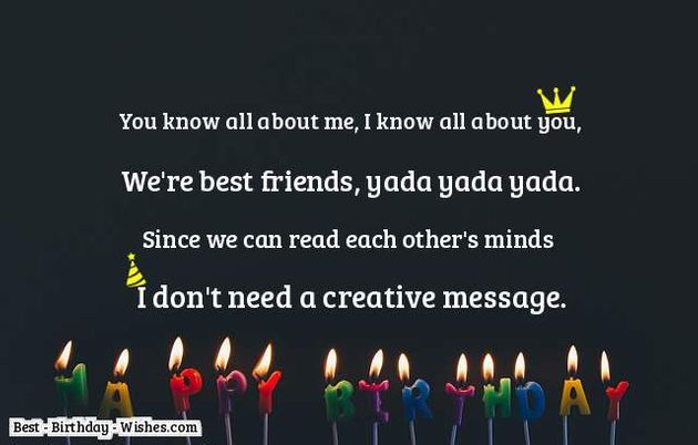 Admirable 23 Birthday Wishes For Friends Best Friend Happy Birthday My Funny Birthday Cards Online Chimdamsfinfo