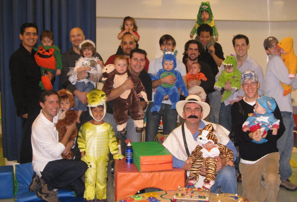 City Dads Group first annual Halloween event in 2009.