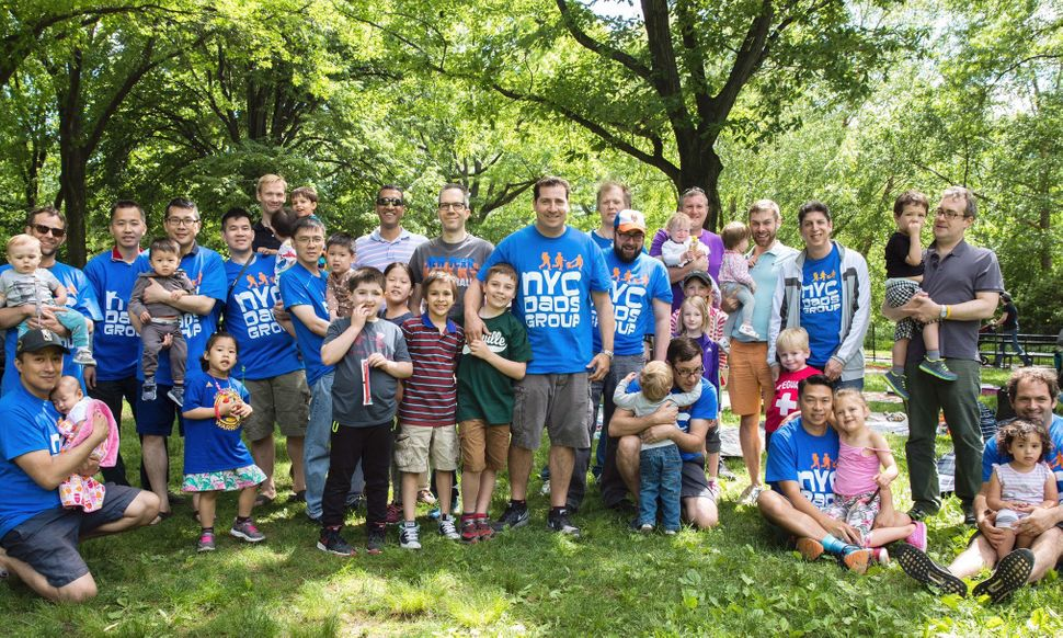 City Dads Group's annual Pre-Father's Day Picnic in Central Park.