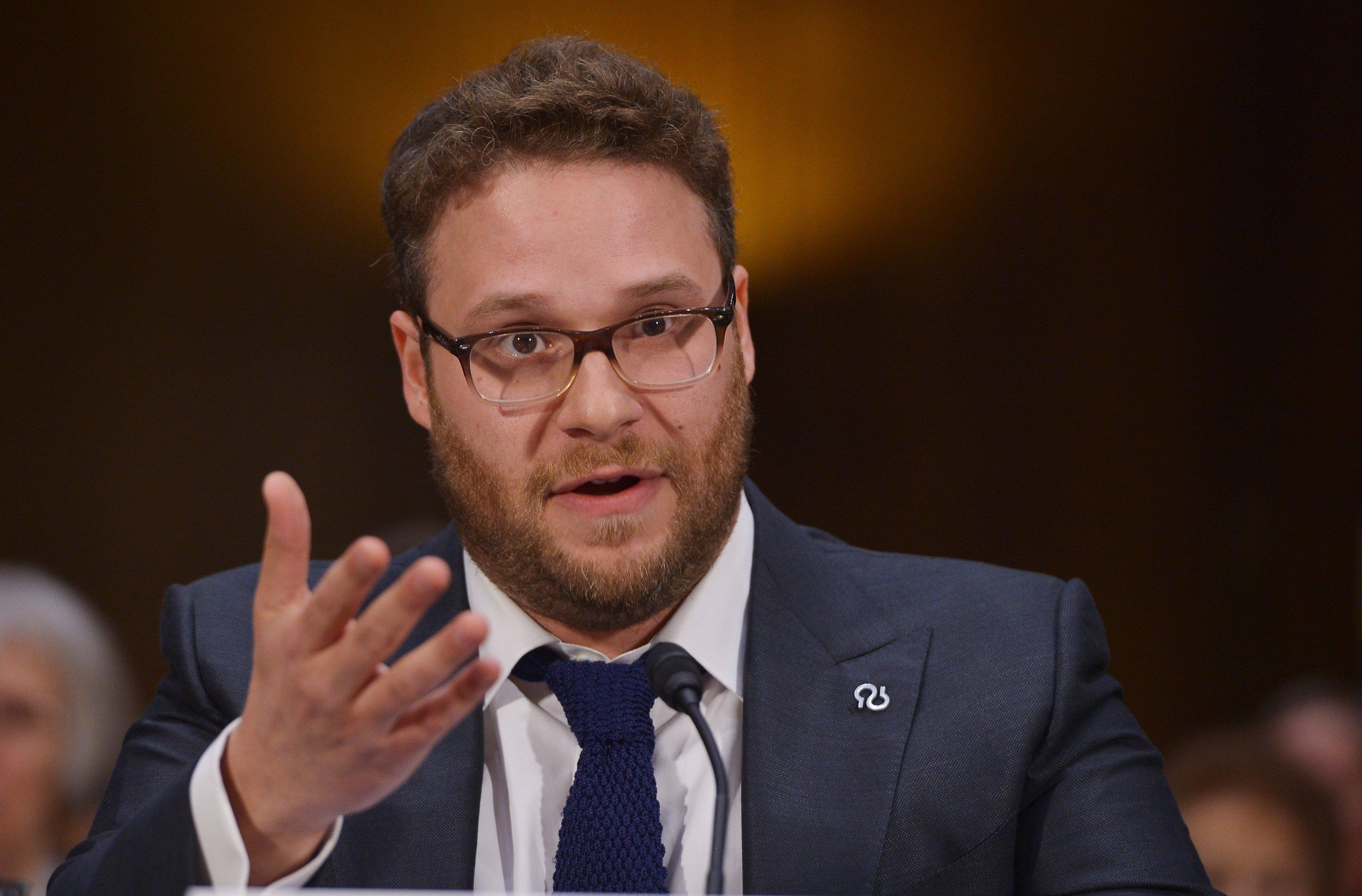 Seth Rogen got into a Twitter dispute with right-wing radio host Bill Mitchell this