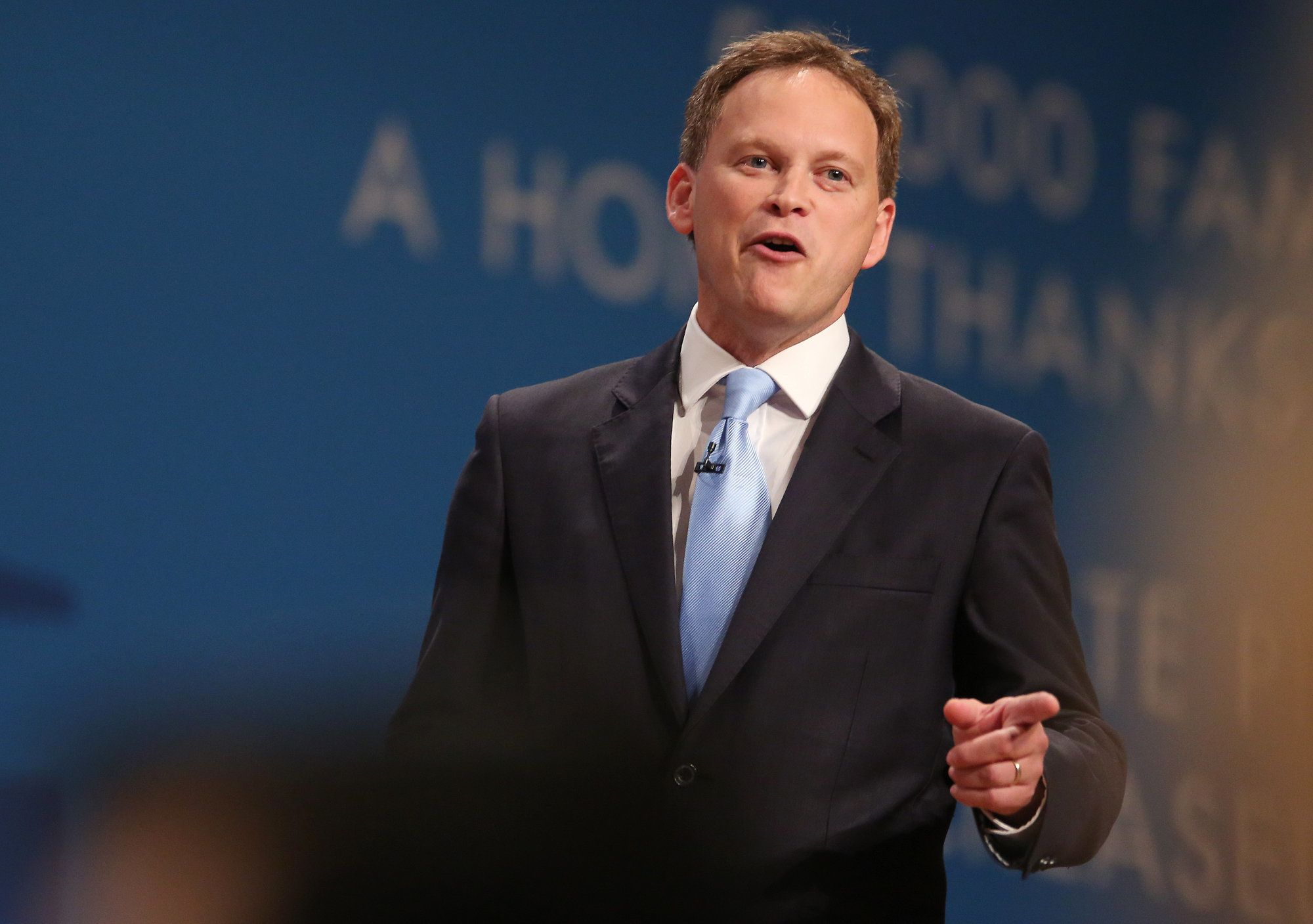 EMPICS Entertainment Former Tory chairman Grant Shapps