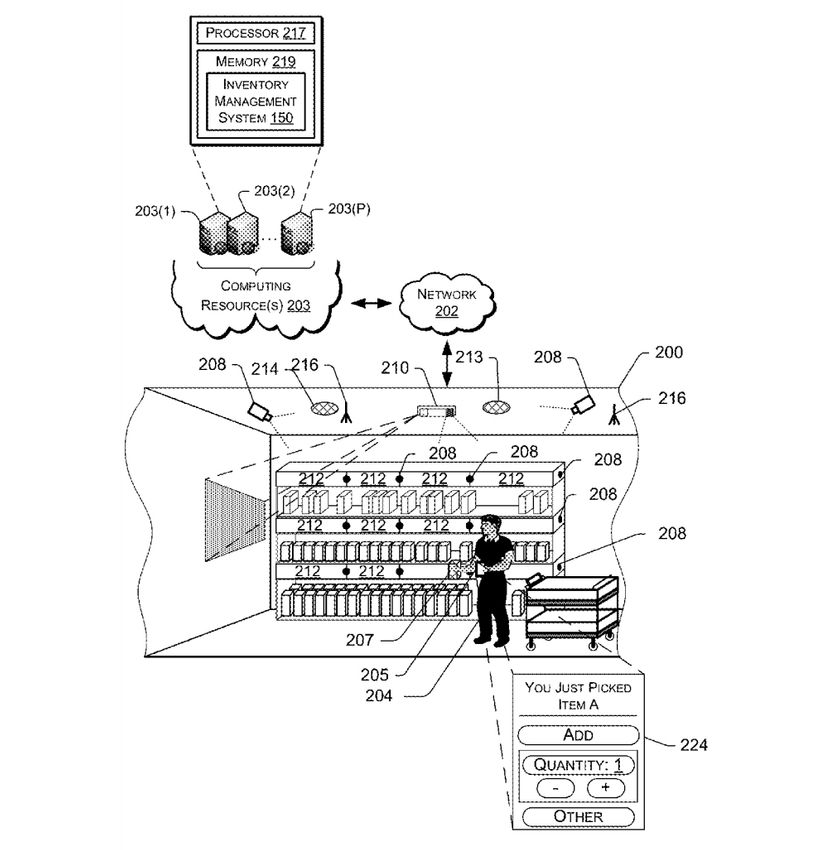 Amazon's aforementioned patent filing