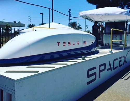 Elon Musk Took His Own Hyperloop Prototype Out For A Spin And Set A New