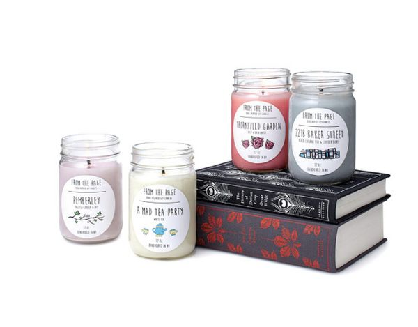 """<a href=""""https://www.uncommongoods.com/product/literary-candles"""" target=""""_blank"""">Shop them here</a>."""