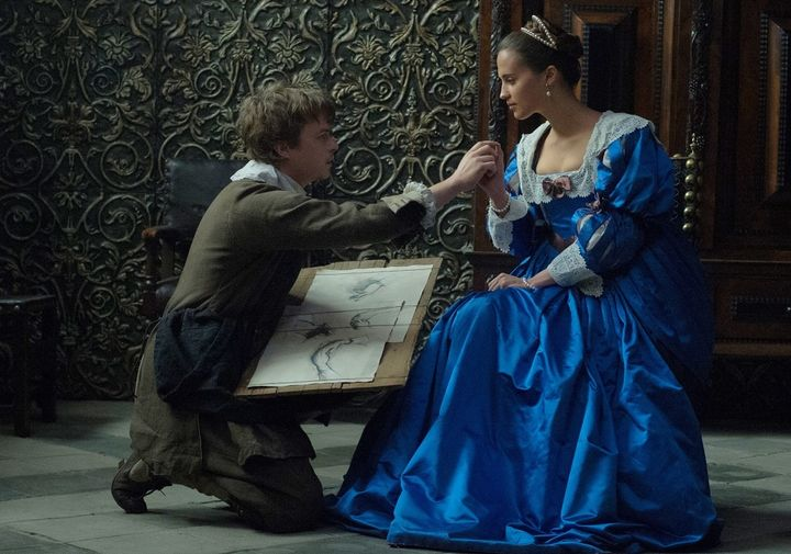 <em>Dane DeHaan and Alicia Vikander star in TULIP FEVER. </em>