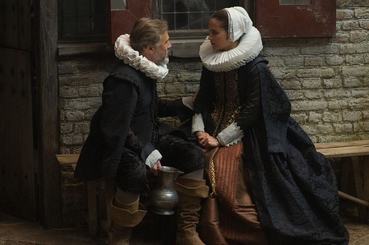 <em>Christoph Waltz and Alicia Vikander star in TULIP FEVER. </em>