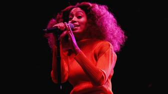 NEW ORLEANS, LA - JULY 02:  Solange Knowles performs onstage at the 2017 ESSENCE Festival Presented By Coca Cola at the Mercedes-Benz Superdome on July 2, 2017 in New Orleans, Louisiana.  (Photo by Bennett Raglin/Getty Images for 2017 ESSENCE Festival)