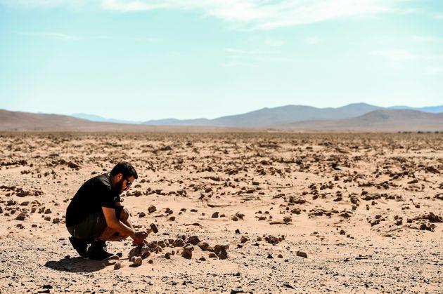 El desierto en marzo de 2017.