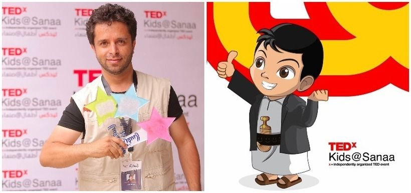"Ahmed Sayaghi, leader of coming TedxKids@Sanaa, ""I hope we can learn from our children speakers' stories the lust for life an"