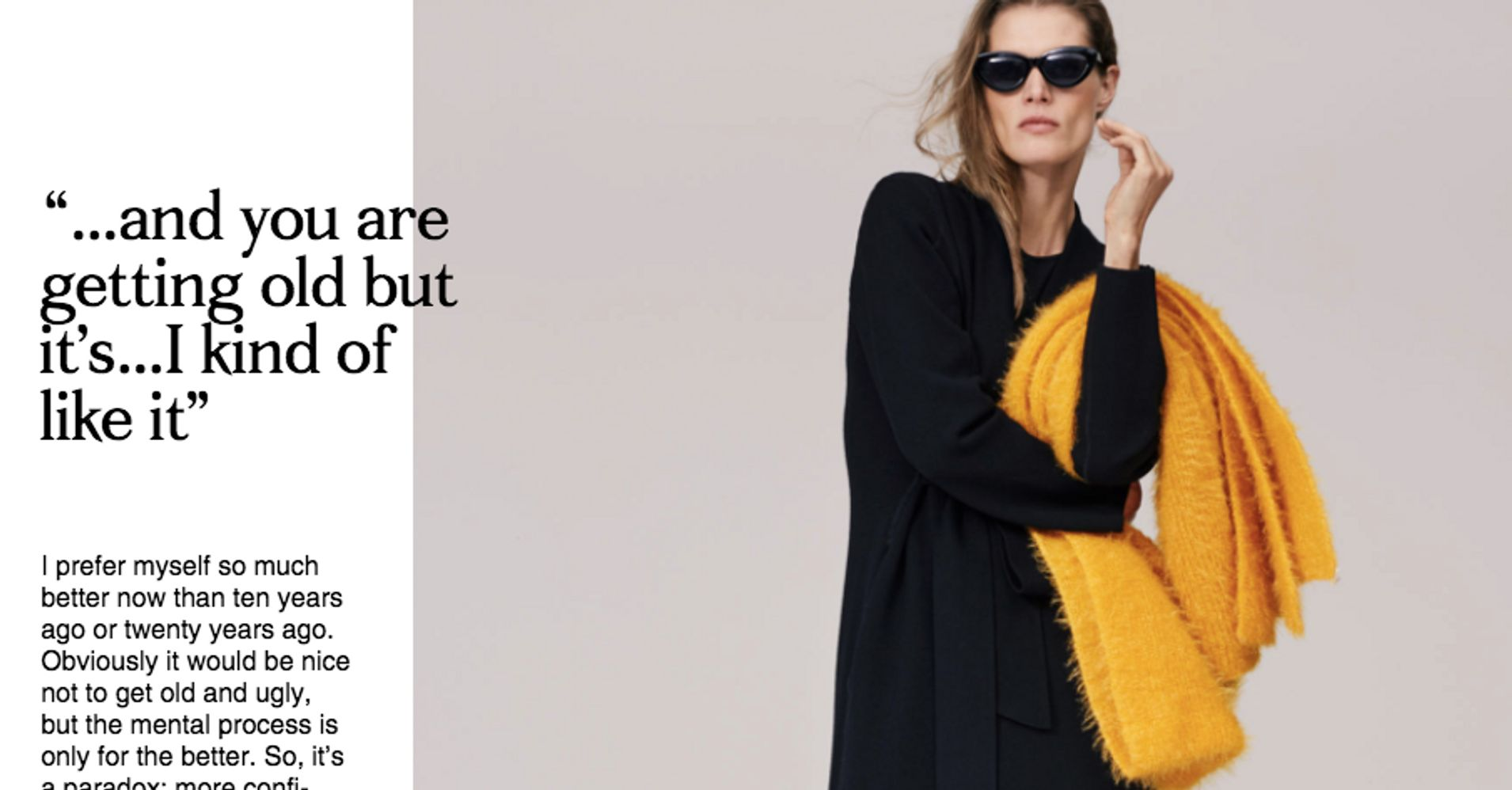 2cb0f1850 Zara Used Models Over 40 And Totally Missed The Point | HuffPost Life