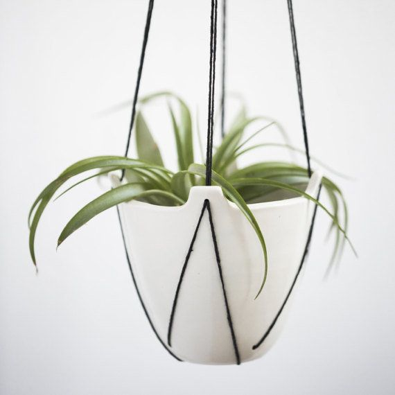 "Get 15% off when you spend $50.<a href=""https://www.etsy.com/listing/497263660/hanging-porcelain-planters-stitched?ref=deals_"