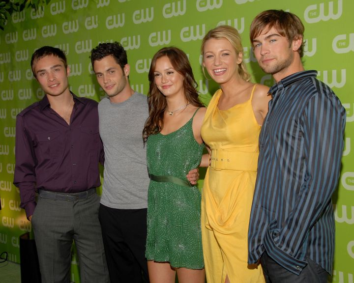 "The cast of ""Gossip Girl"" in 2007."