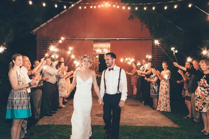 Kevin Walsh and Blake Moore's September 2016 wedding.