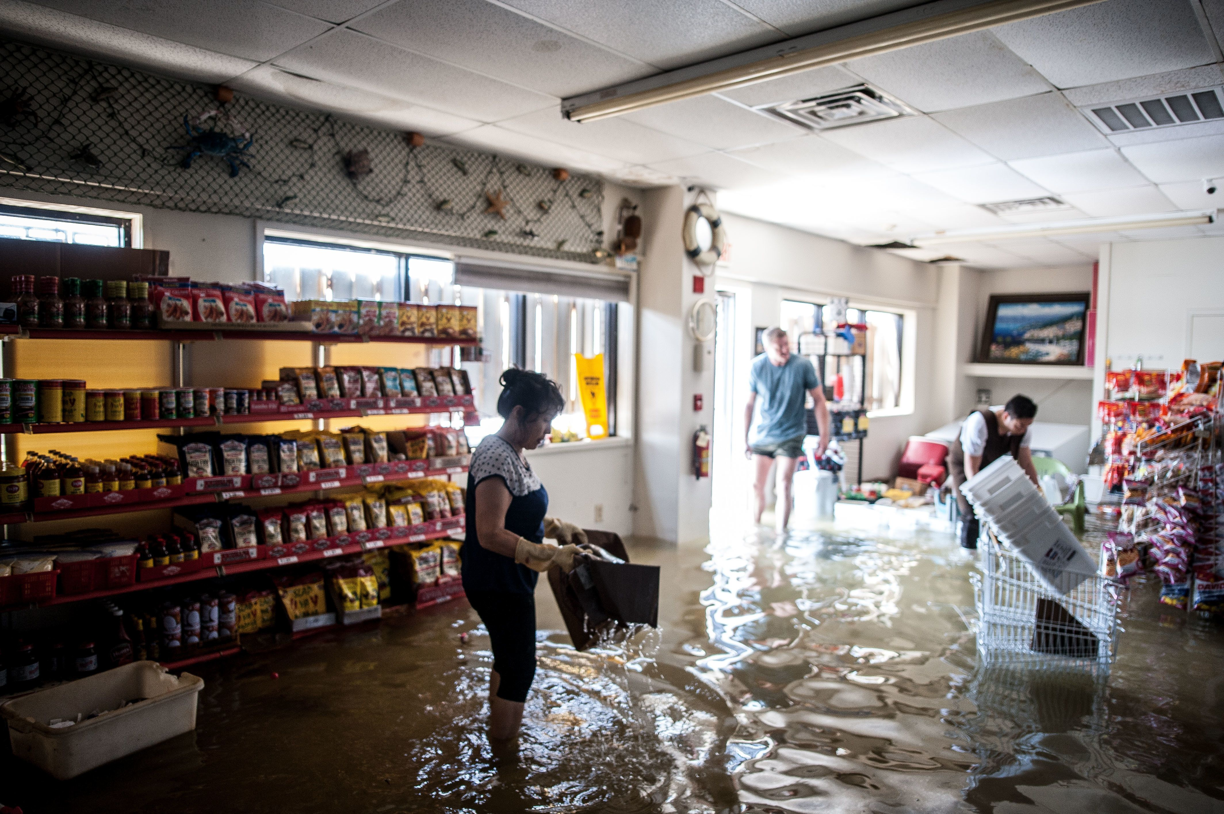 This Woman's Flooded Store Looks Brand New After She Refused To Give Up Hope