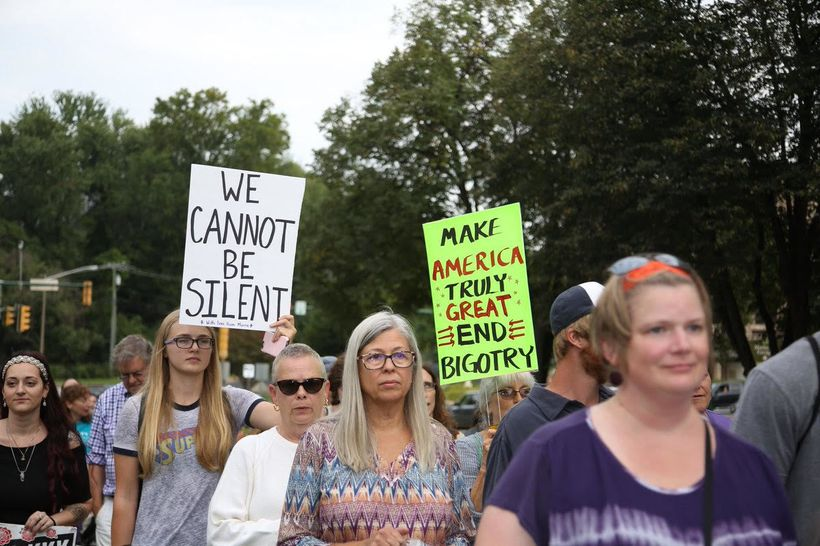 <em>People from all walks of life joining the march to confront white supremacy, which starts on Aug. 28 in Charlottesville a