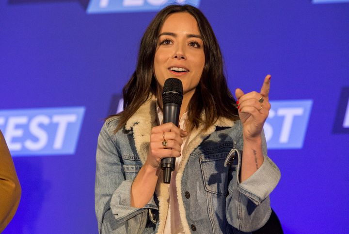 Actress Chloe Bennet during the Walker Stalker Con Chicago at the Donald E. Stephens Convention Center on March 26, 2017.