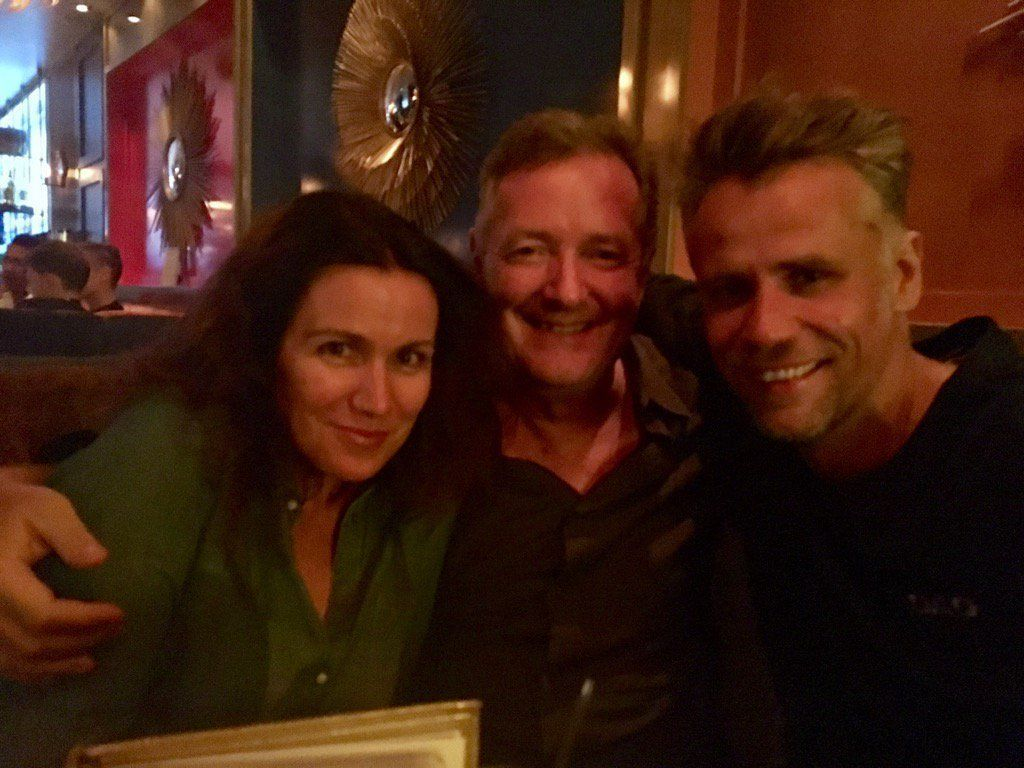 Susanna Reid Actually Chose To Go Partying With Piers Morgan During Their 'Good Morning Britain'