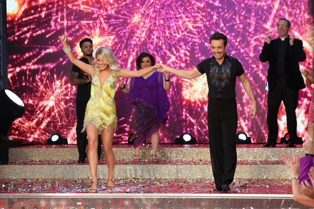 Mollie and her fellow 'Strictly' stars hit the red