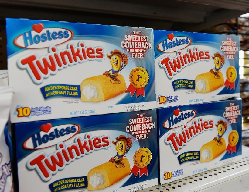 <em>Twinkies returned to store shelves after Hostess filed for bankruptcy in 2012.</em>