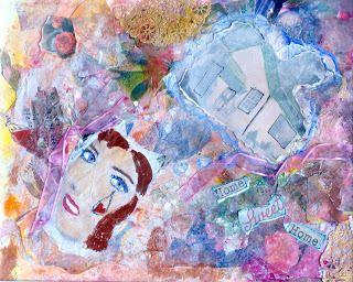 "More <a rel=""nofollow"" href=""https://amyoes.com/galleries"" target=""_blank"">mixed media art -</a> made right out of Yale hospi"