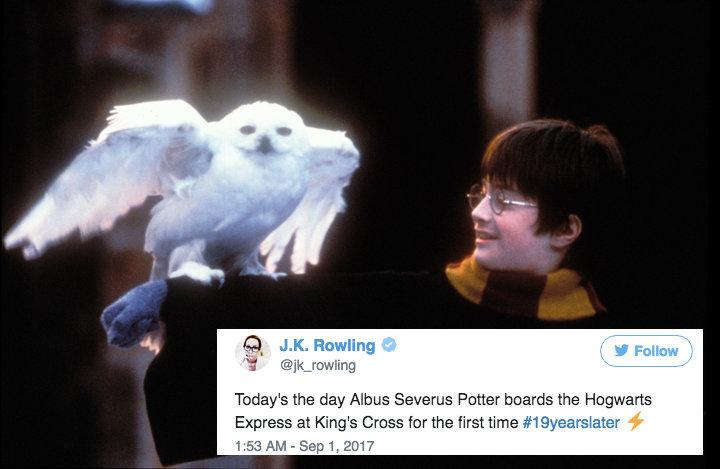 19 años después, J. K. Rowling da a sus fans el regalo que todos
