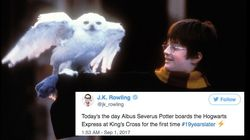 19 Years Later, J.K. Rowling Gives Fans An Online