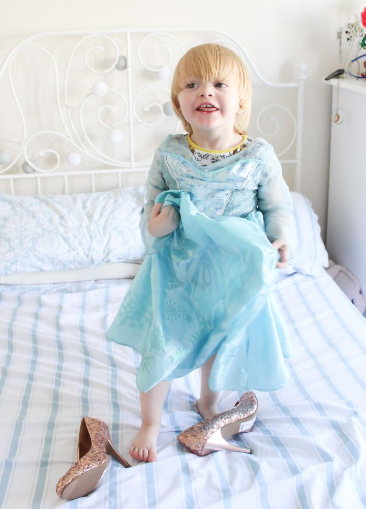 """""""If there's such a thing as a 'Frozen' super fan, Noah is it,"""" Hayley McLean-Glass said of her 3-year-old son."""