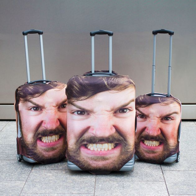 If You Never Recognize Your Luggage, This Hilarious Travel Case Is For